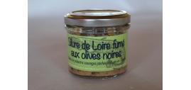 Silure de Loire Fumé Aux Olives Noires