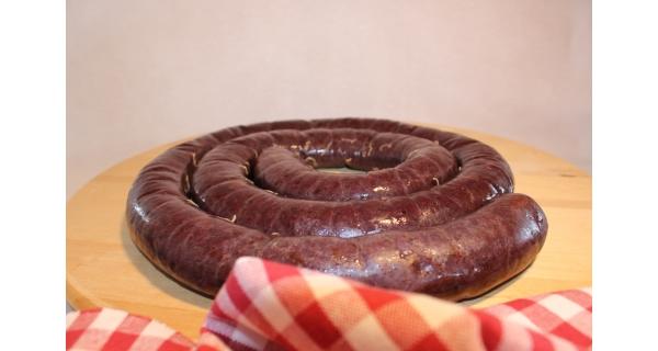 Boudin Noir A L'Oignon 1 kg