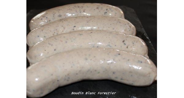 Boudin Blanc Forestier ×4